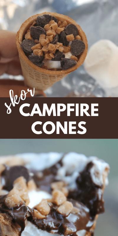 how to make campfire cones