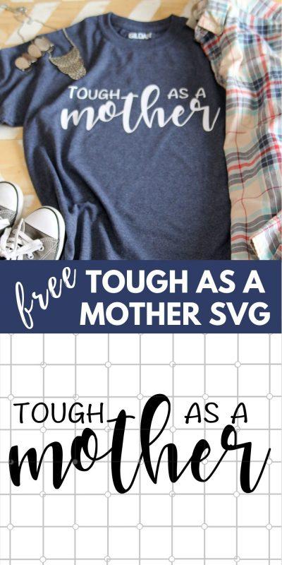 tough as a mother svg