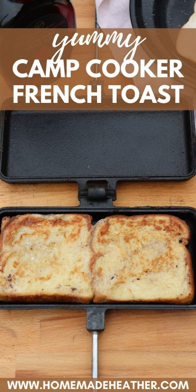 camp cooker french toast
