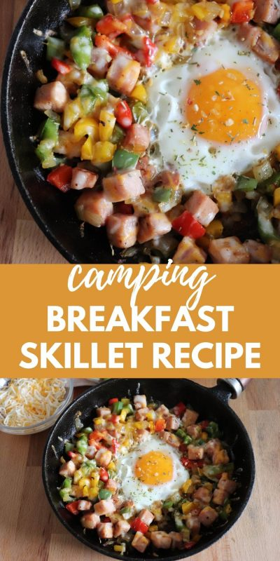 low carb camping breakfast skillet recipe