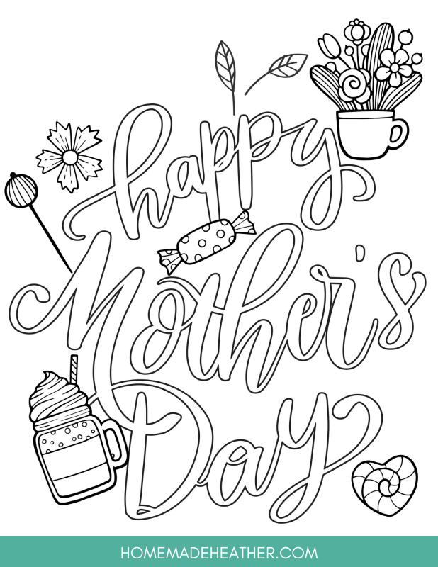mothers day activity printables