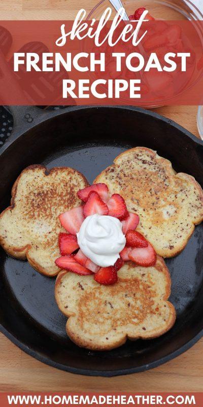 Campfire french toast recipe