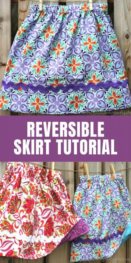 Simple Reversible Skirt Tutorial
