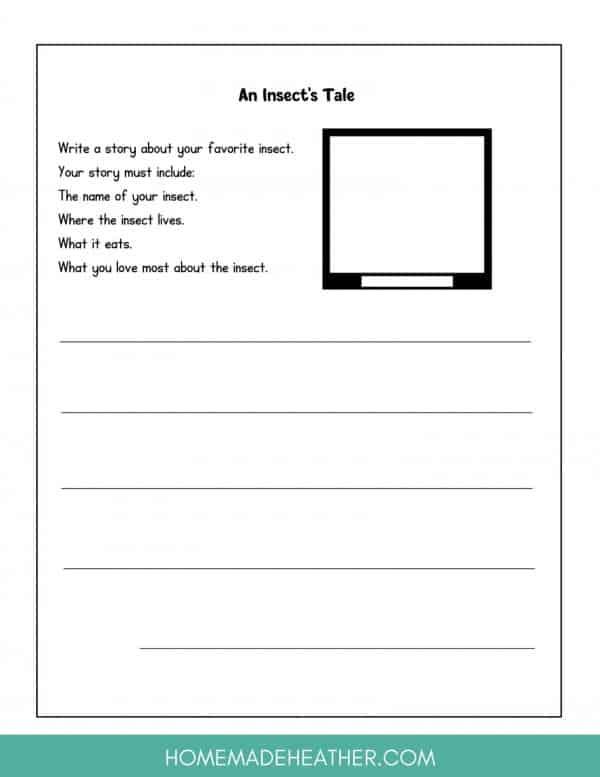 Free Backyard Printable Journal