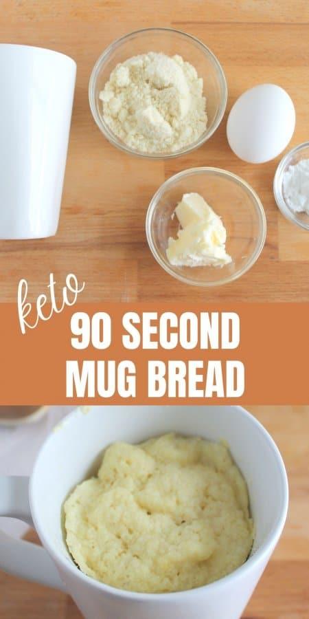 Keto 90 Second Mug Bread