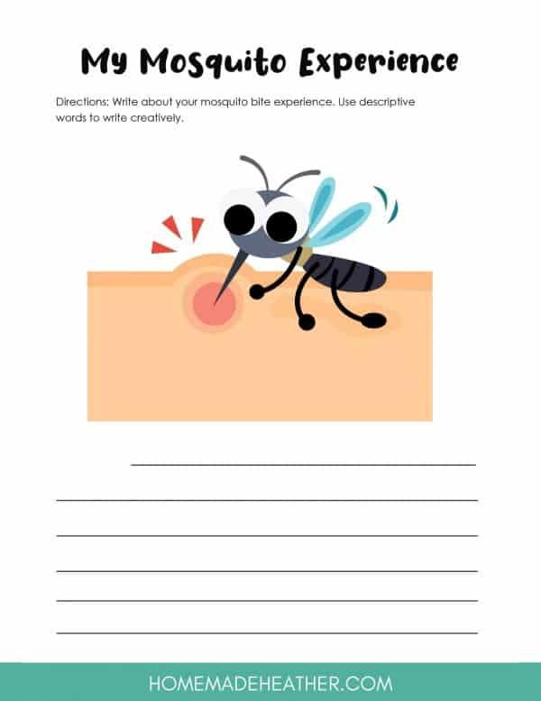 Free Mosquito Activity Printable