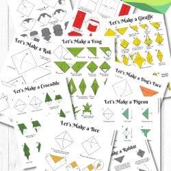 Free Origami Animal Printable Designs