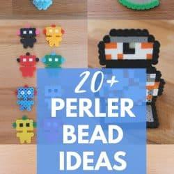20+ Perler Bead Craft Ideas