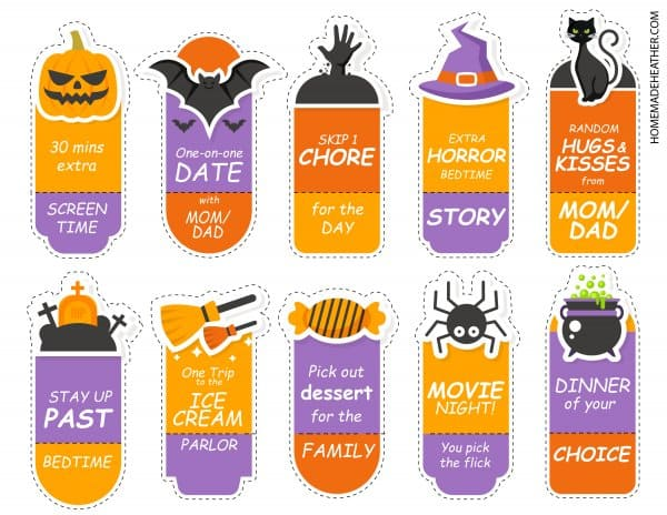 Free Halloween Coupon Printables