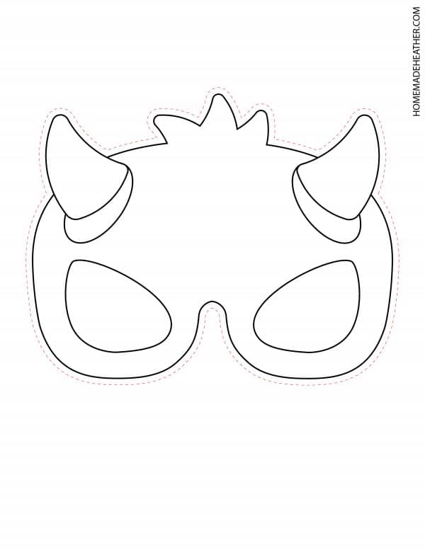 Free Halloween Mask Printables