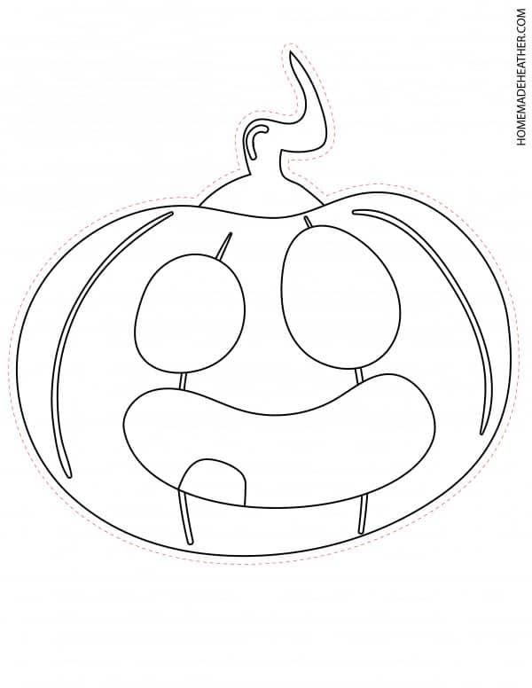 Free Halloween Pumpkin Mask Printable