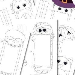 Free Halloween Puppet Printables
