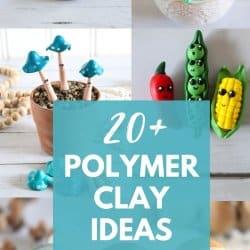 20+ Easy Polymer Clay Craft Ideas