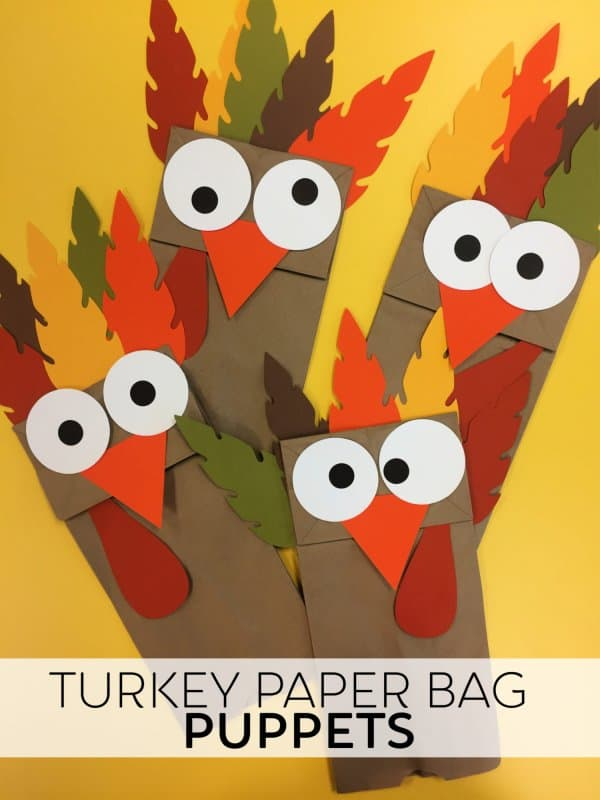 Turkey Paper Bag Craft