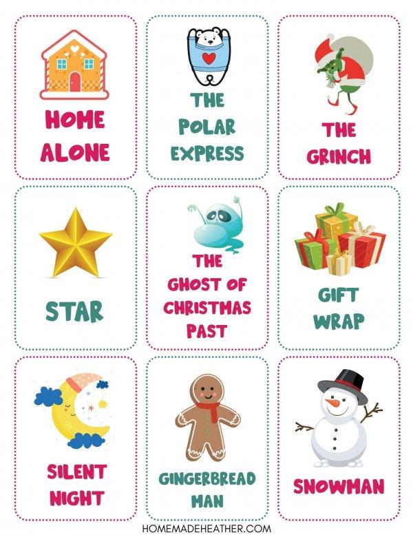 Free Christmas Game Printable