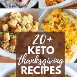 Keto Friendly Thanksgiving Recipes