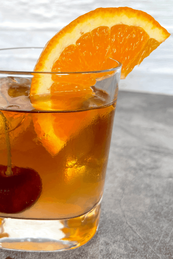 Keto Old Fashioned Cocktail