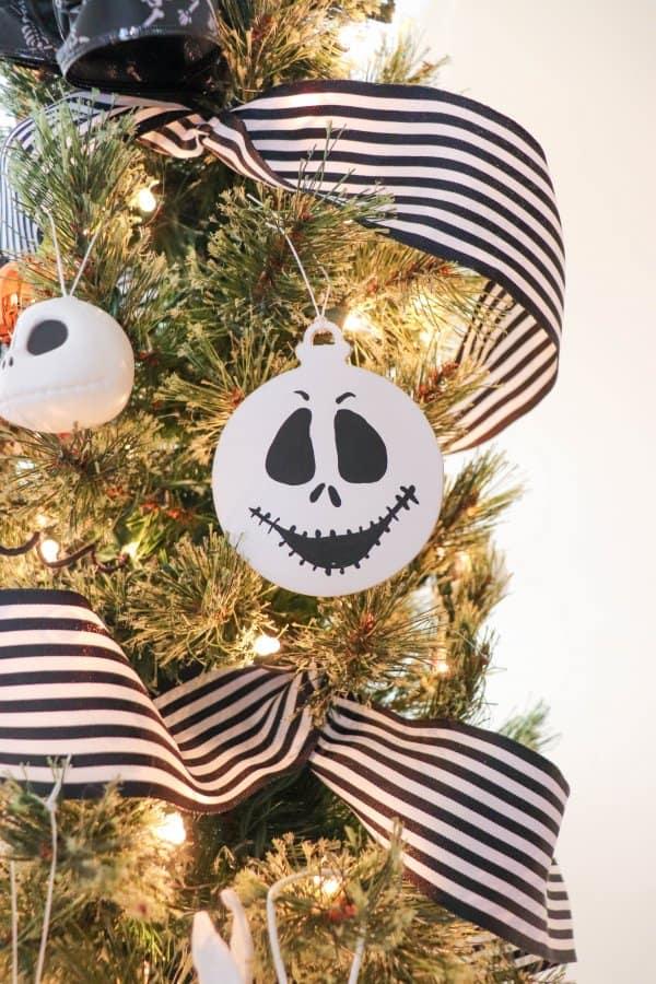 DIY Jack Skellington Ornament Craft