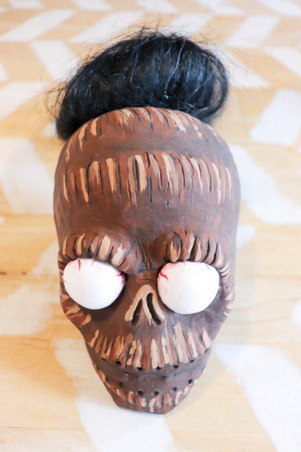 DIY Shrunken Head Costume