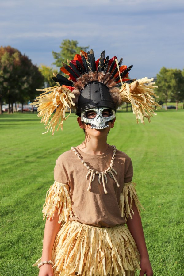 DIY Witch Doctor Costume