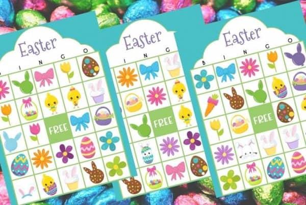 Easter Bingo Printable