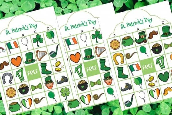 St Patricks Day Bingo Printable