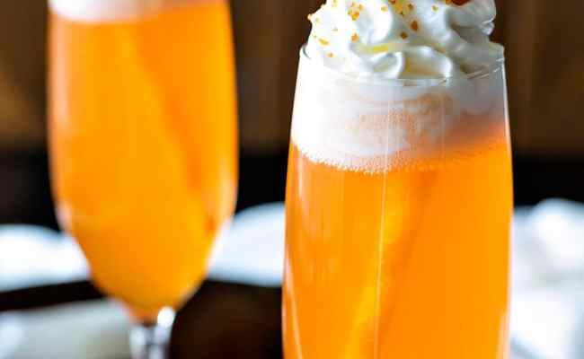 Orange Creamsicle Cocktail Homemade Hooplah