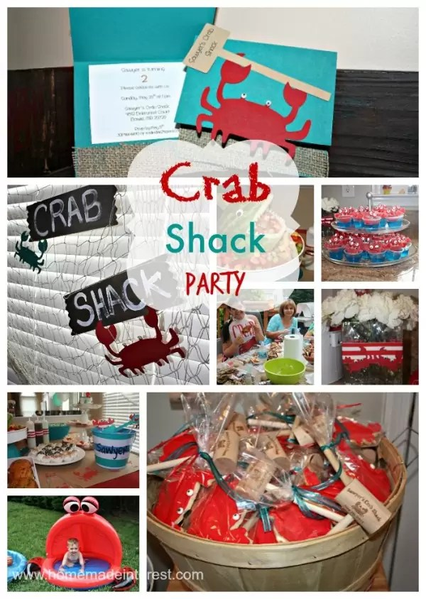 Crab Shack Birthday Party  Home Made Interest