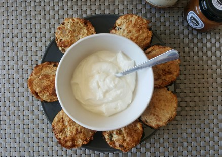 Biscuits tahini flocons d'avoine