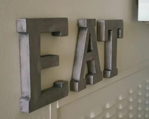 zinc look letters