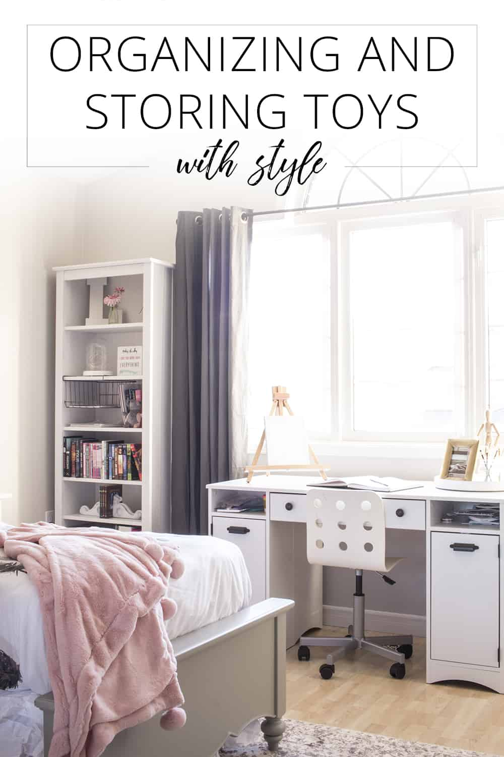 organizing and storing toys with style
