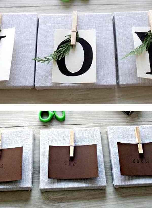 DIY Fabric Canvases for Christmas and Other Occasions