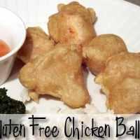 Gluten Free Chicken Balls Garlic Broccoli