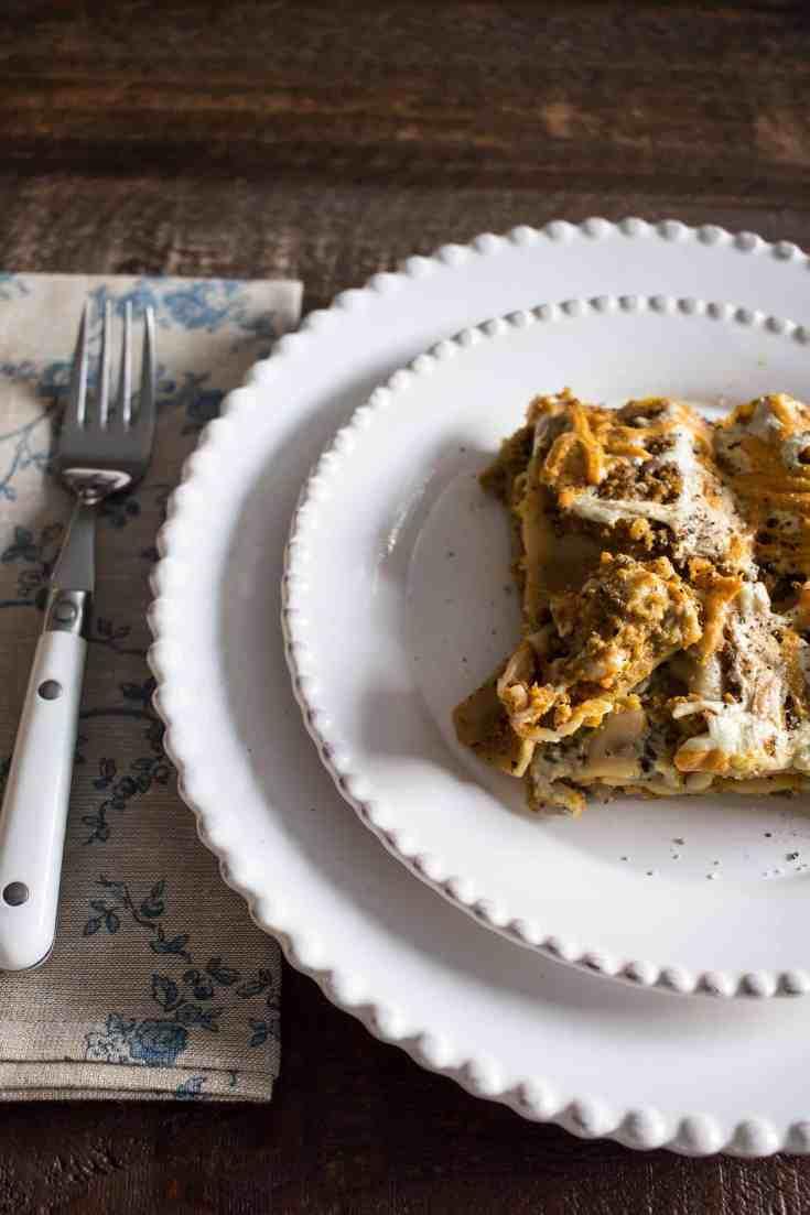 Gluten Free Dairy Free Lasagna
