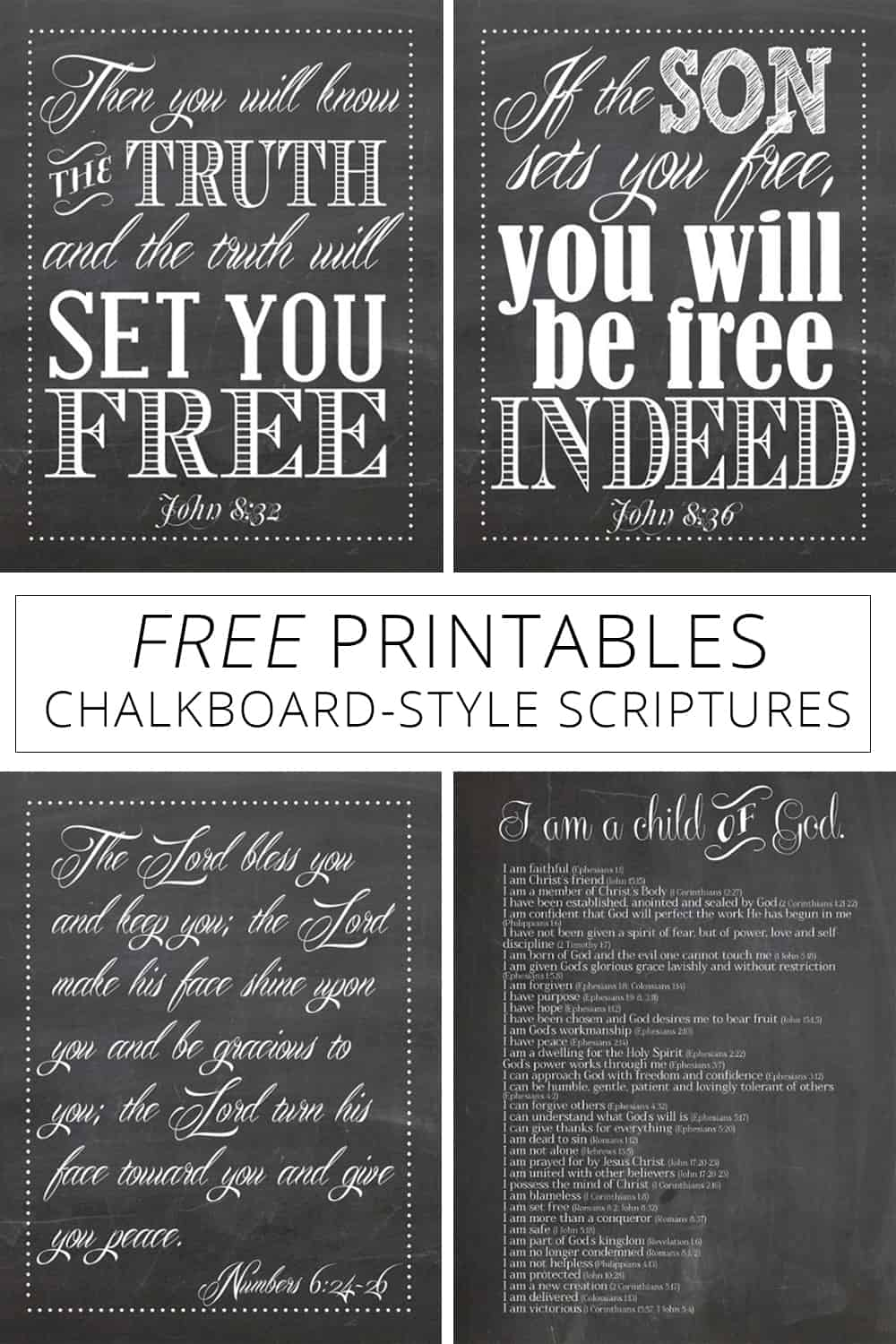 picture relating to Who I Am in Christ Printable referred to as Totally free Without a doubt Realize Who By yourself Are Inside of Christ - Cost-free Printable Artwork
