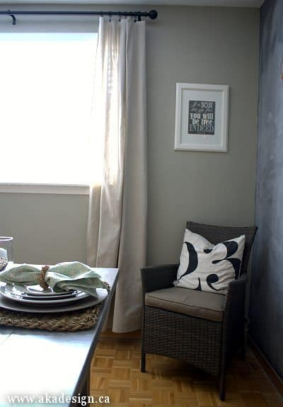 rattan chair number pillow