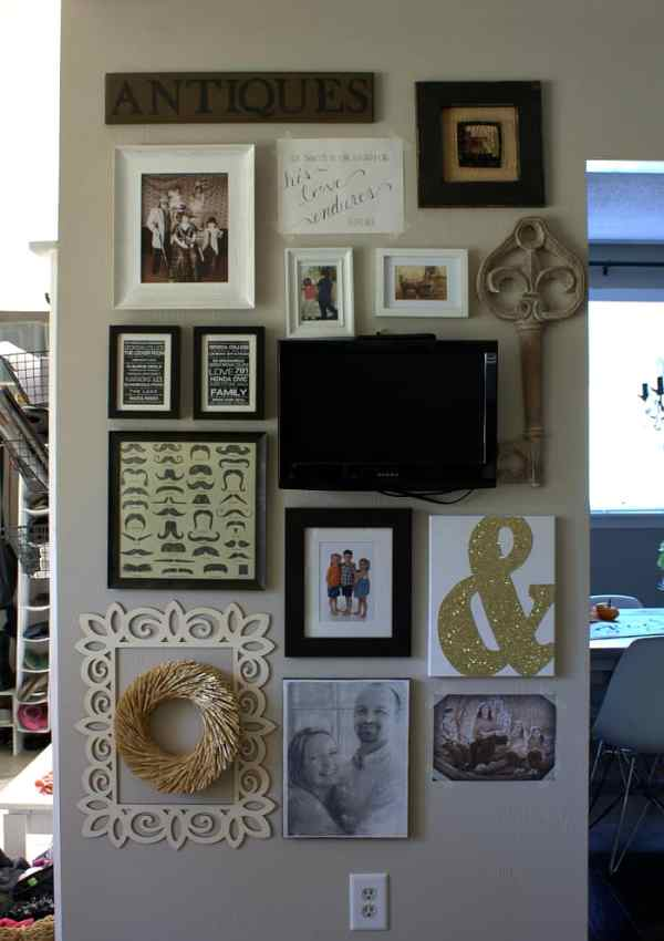 Gallery Wall | Decorating