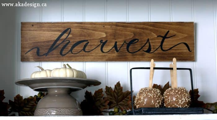 harvest sign baby boos candy apples 1
