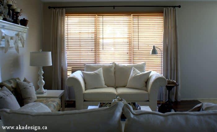 living room drop cloth curtains
