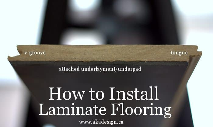 how to install laminate flooring 1