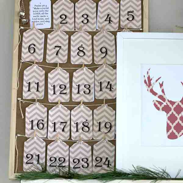 Printable Scripture Advent Calendar
