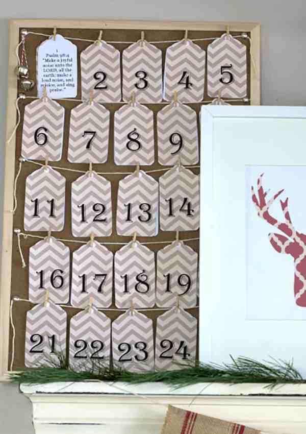 Scripture Advent Calendar – FREE Printable Advent Calendar Tags