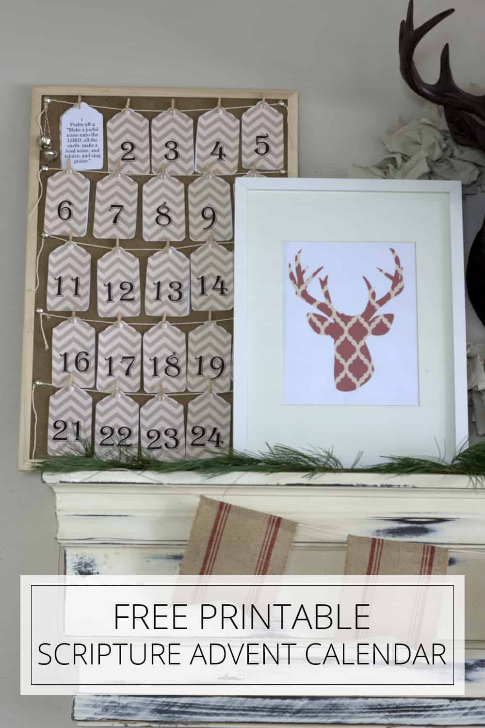 free printable scripture advent calendar
