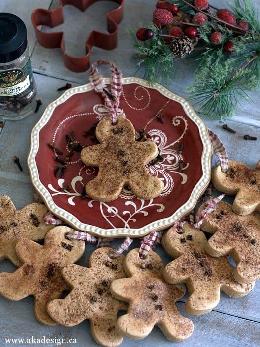 salt dough gingerbread men