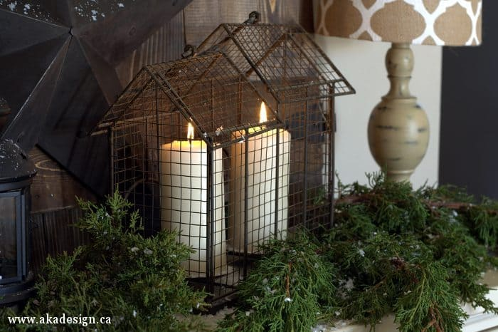 cedar candles wire house