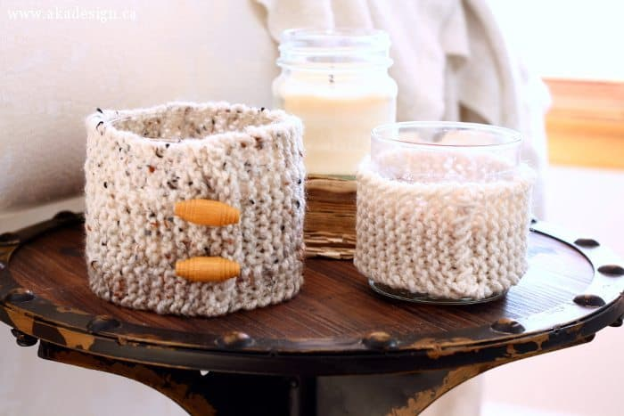 unlit candle cozies
