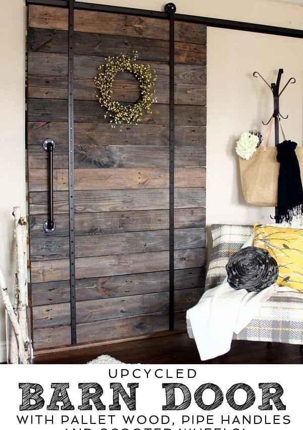Upcycled Barn Door!