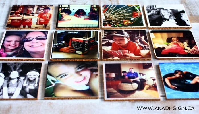 photo coasters | www.akadesign.ca