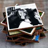 Make Your Own Coasters - DIY Photo Coasters Tutorial