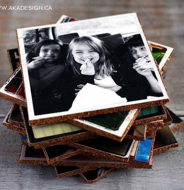 Photo Coasters – Make Your Own Picture Coasters